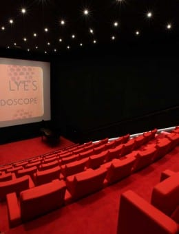 Len Lye Centre Cinema Screen Photo Glenn Jeffrey