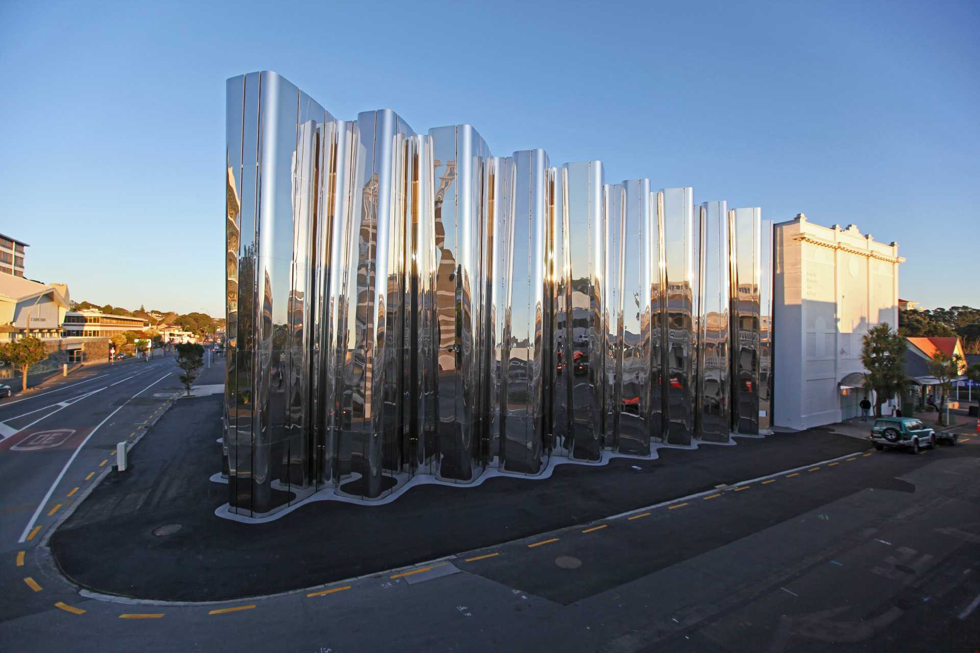 Len Lye Centre and Govett-Brewster Art Gallery - Photo Glenn Jeffrey (2)