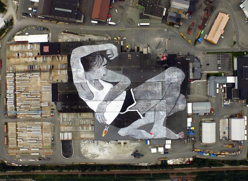 ella-pitr-nuart-festival-norway-largest-mural-in-the-world-designboom-01