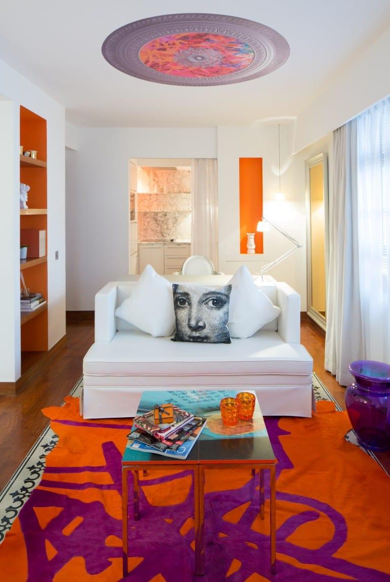 J Plus Hotel by YOO - Orange Suite Living Area
