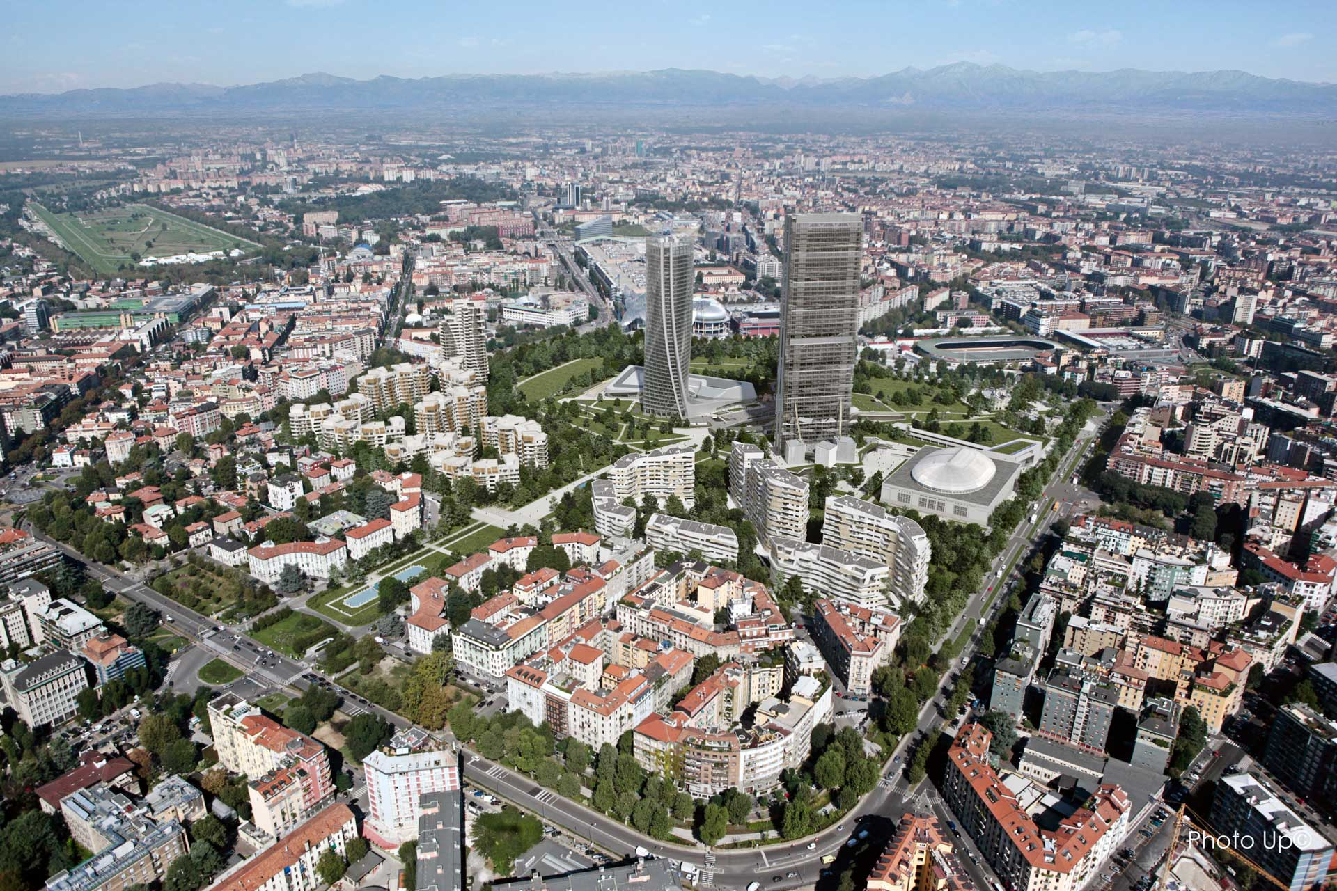 ZHA_Citylife_Generali-Tower_Milan_Aerial-View-2