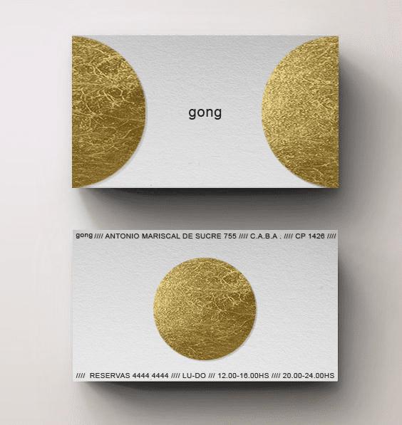 Gong 06 - Branding