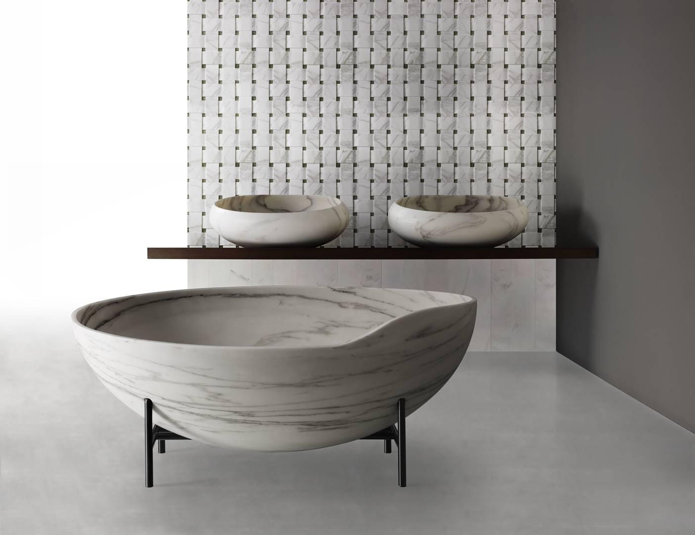 Kreoo_KORA bathtub, Gong Sinks, Taxo Texture (Copy)