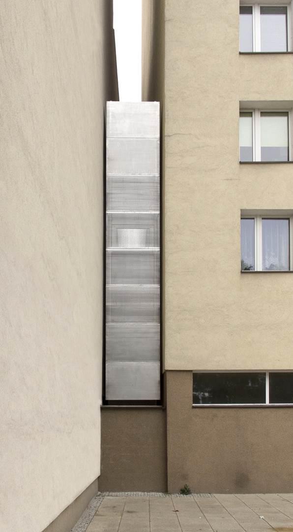 19. Keret House, the front view by Tycjan Gniew Podskarbinski, © Polish Modern Art Foundation (Copy)