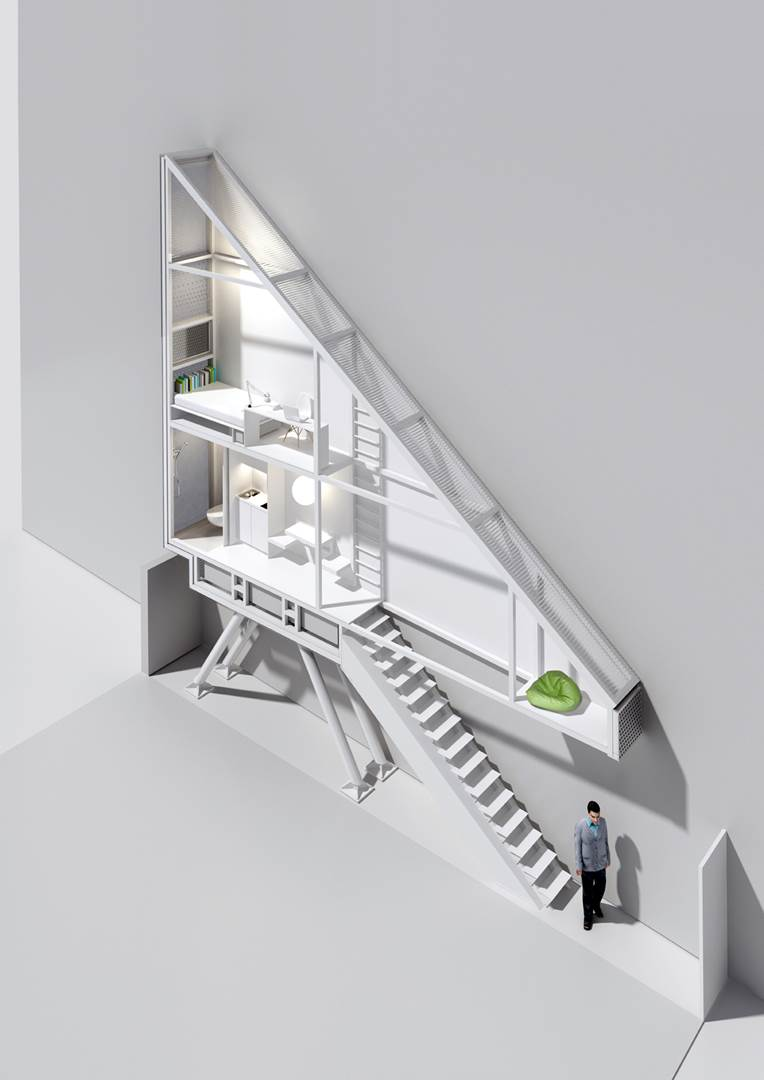 22. Keret House render, open perspective © Polish Modern Art Foundation (Copy)