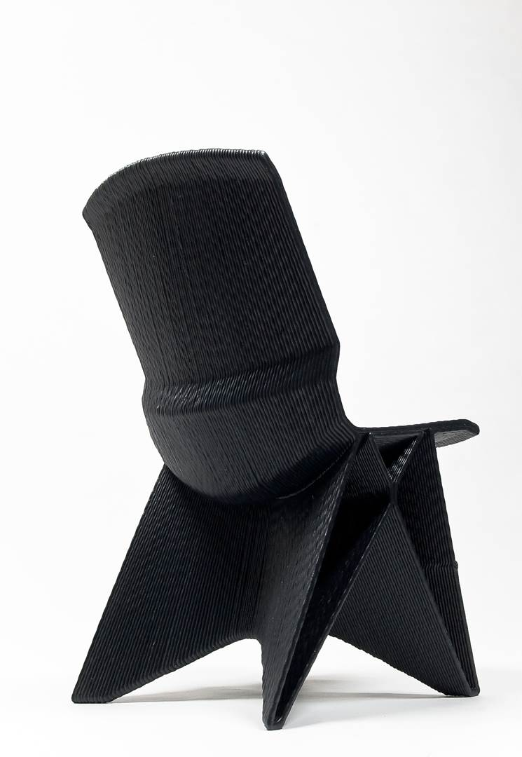 Endless Chair, Black. Photo Studio Dirk Vander Kooij (Copy)