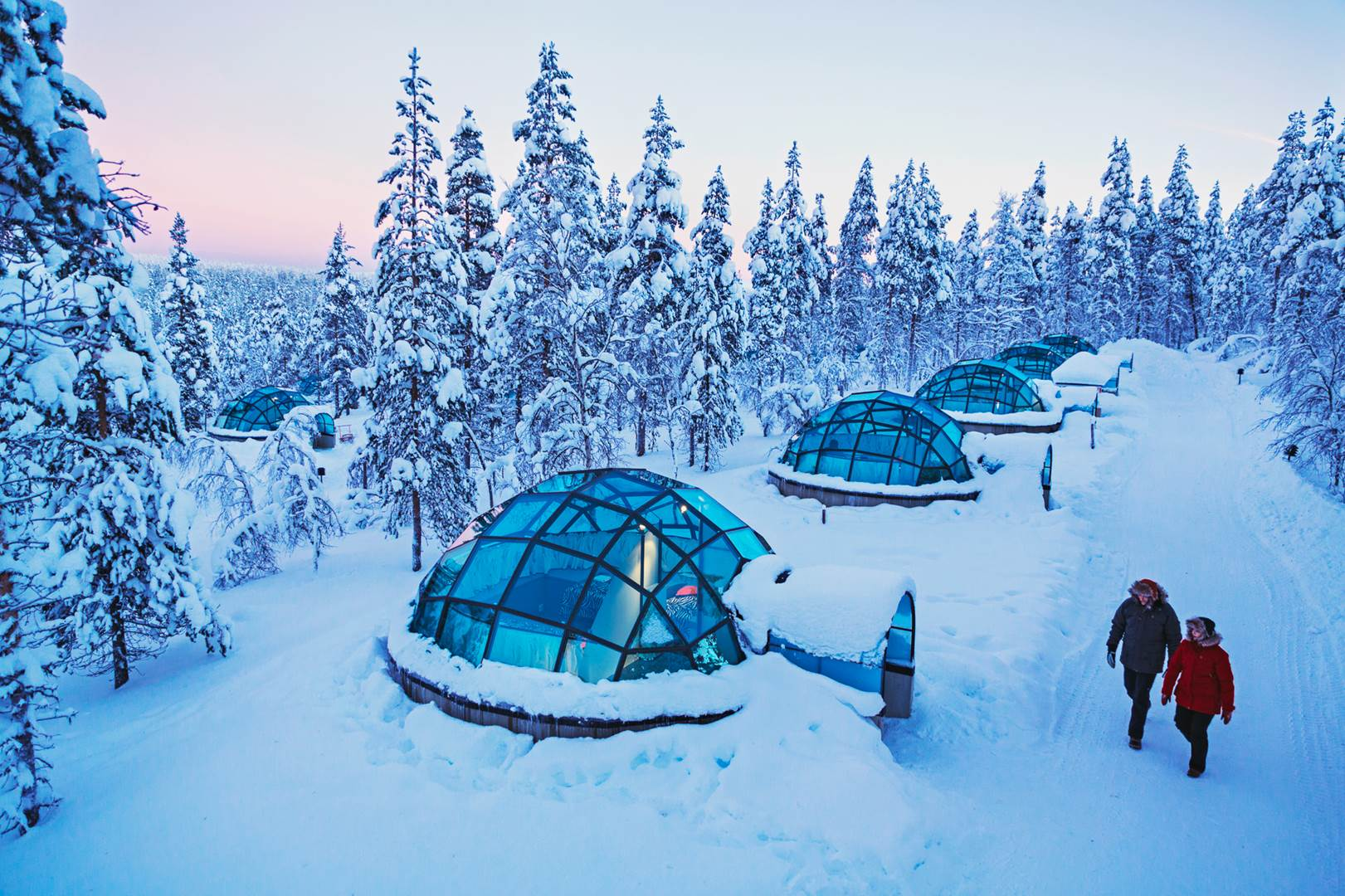 Kakslauttanen glass igloo 2 (Copy)