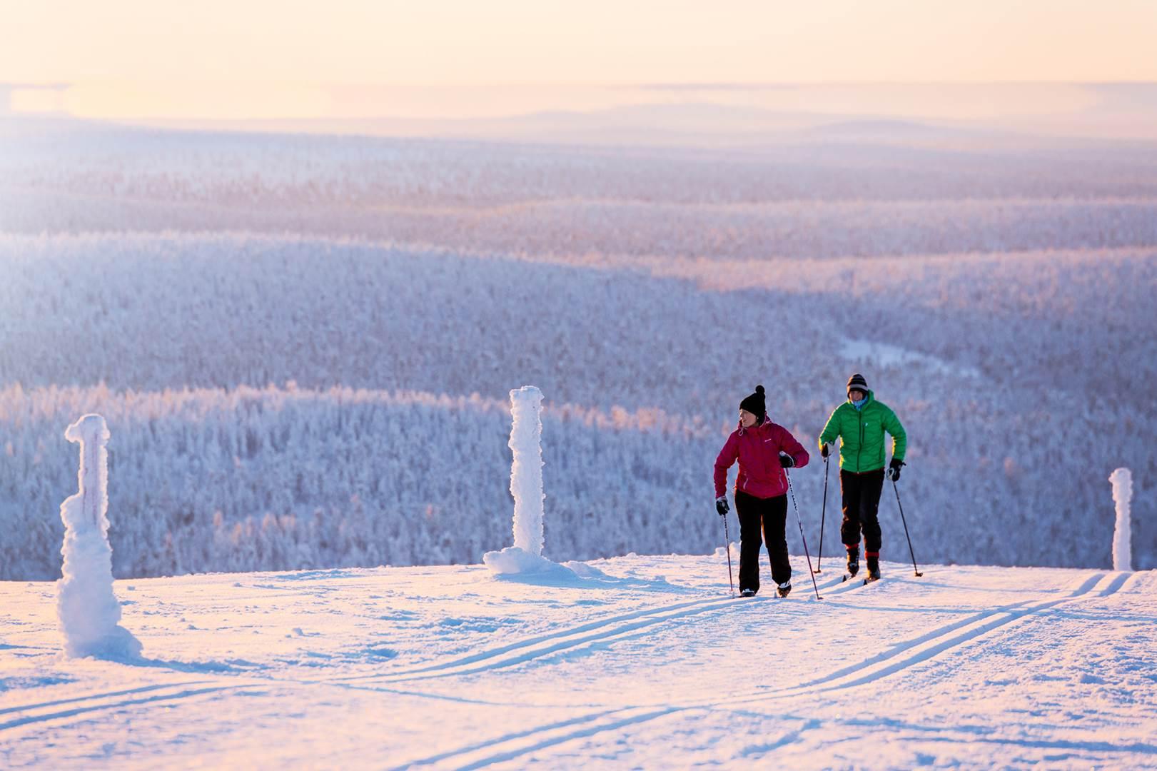 Kakslauttanen skiing 3 (Copy)