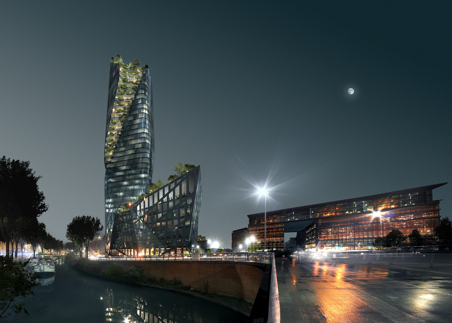 LIBESKIND-TOULOUSE-4-CANAL_MIDI_NUIT@LUXIGON (Copy)