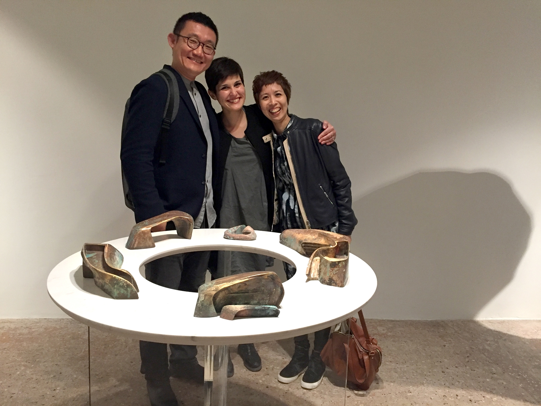 photo with curator Lucia Pedrana (Copy)