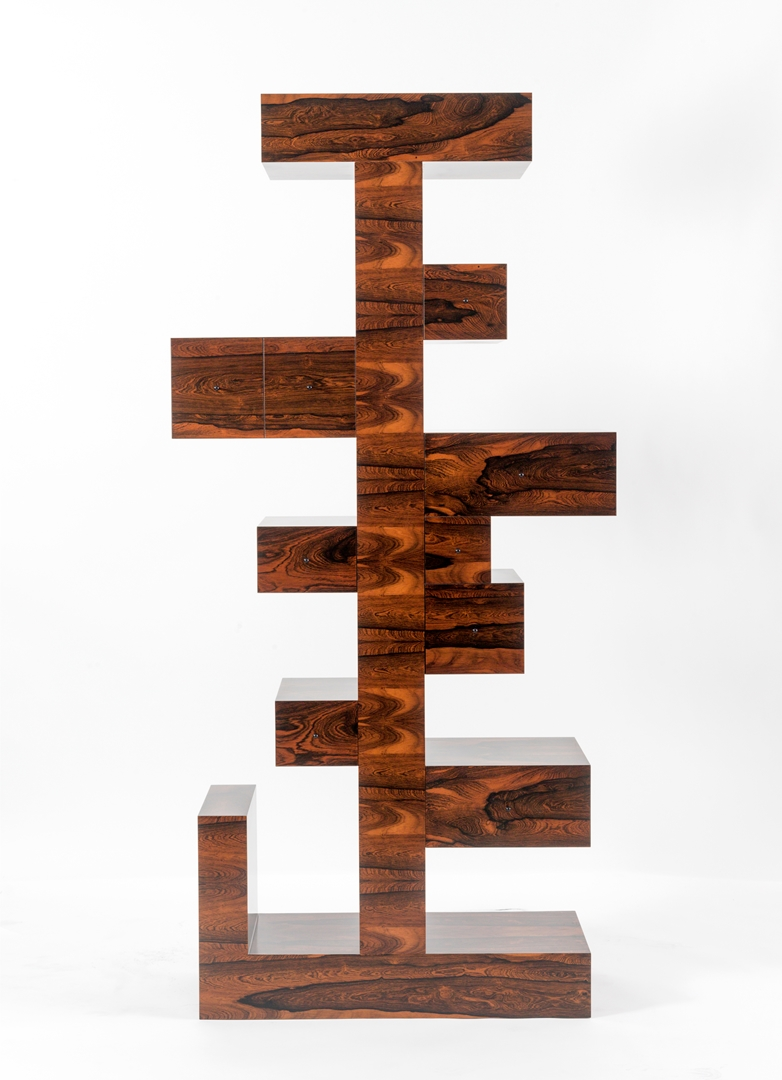 Ettore Sottsass Cabinet at Friedman Benda (2) (Copy)
