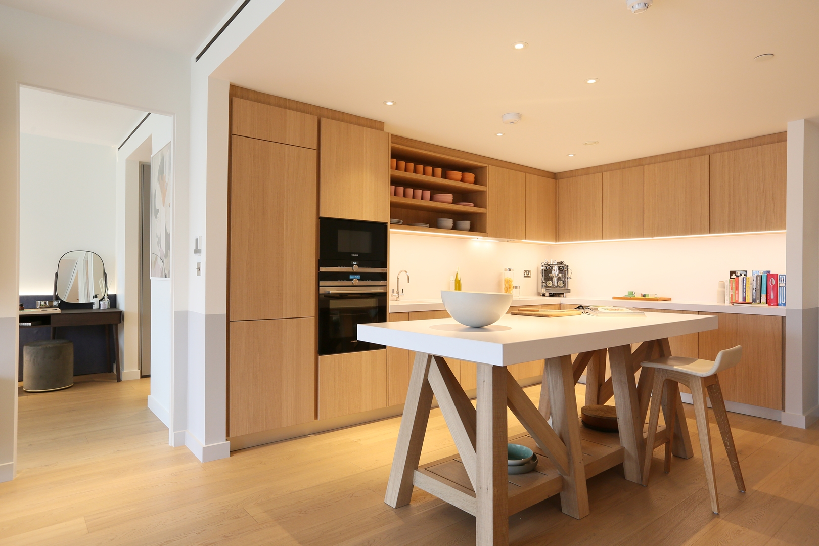 Gehry show apartment kitchen at Battersea Power Station (Copy)