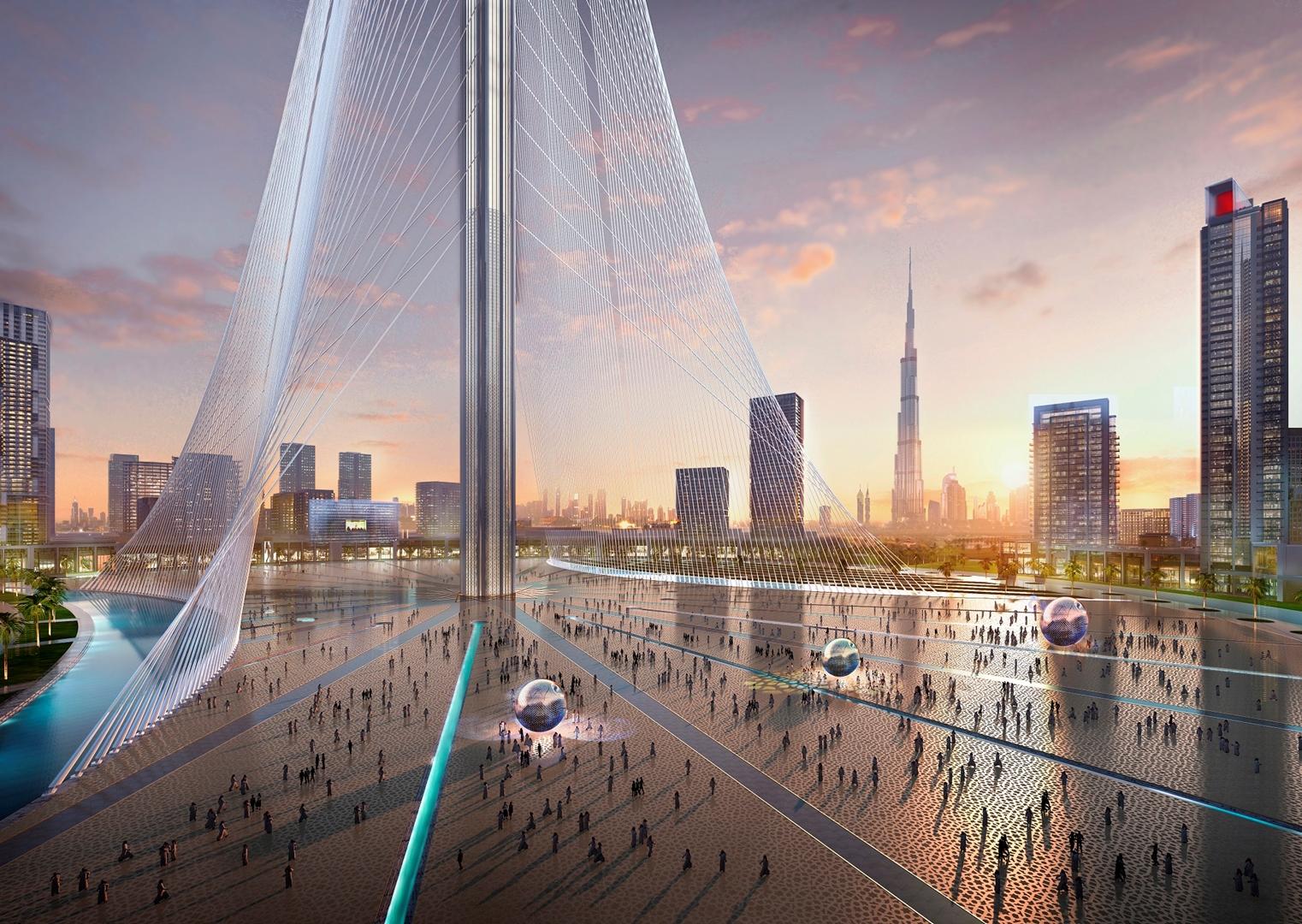 The Tower at Dubai Creek Harbour (4) Credit Emaar Properties (Copy)