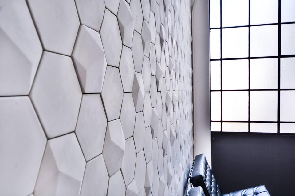Revestimiento · Mosaico Hexagonal Osaka