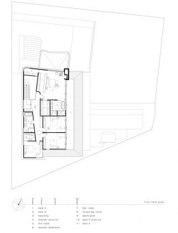 luigi rosselli architects   sticks and stones house   first floor plan (Copy)