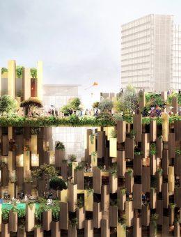 05_@LUXIGON_Aertial view 1 Hotel suspended Garden (Copy)