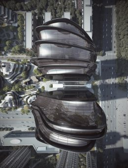 9. MAD_12003_Chaoyang Park Plaza_i_09_rendering_birdview of the office buildings (Copy)