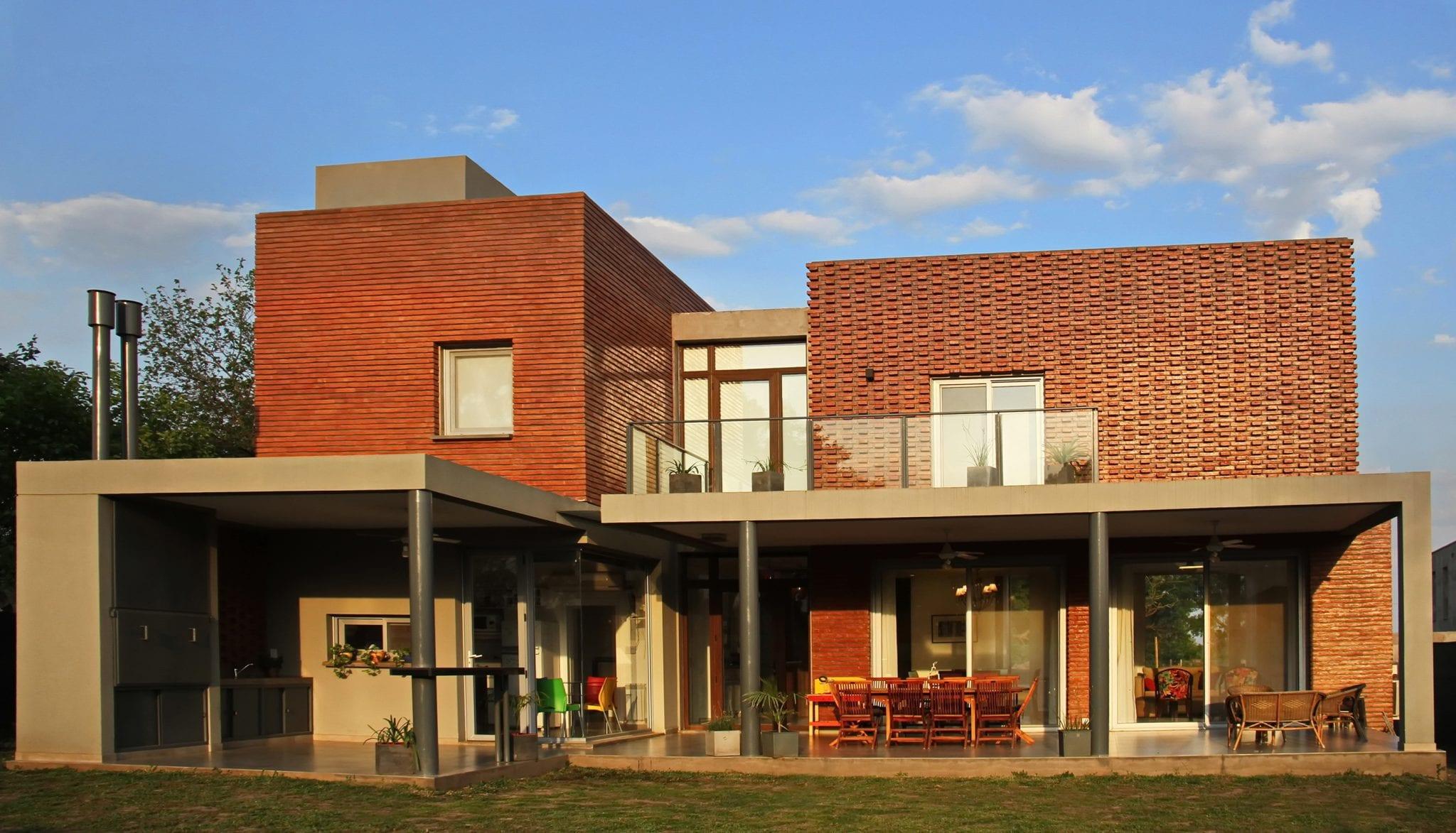 Revista estilo propio arquitectura y dise o arte y - Casa de materiales ...