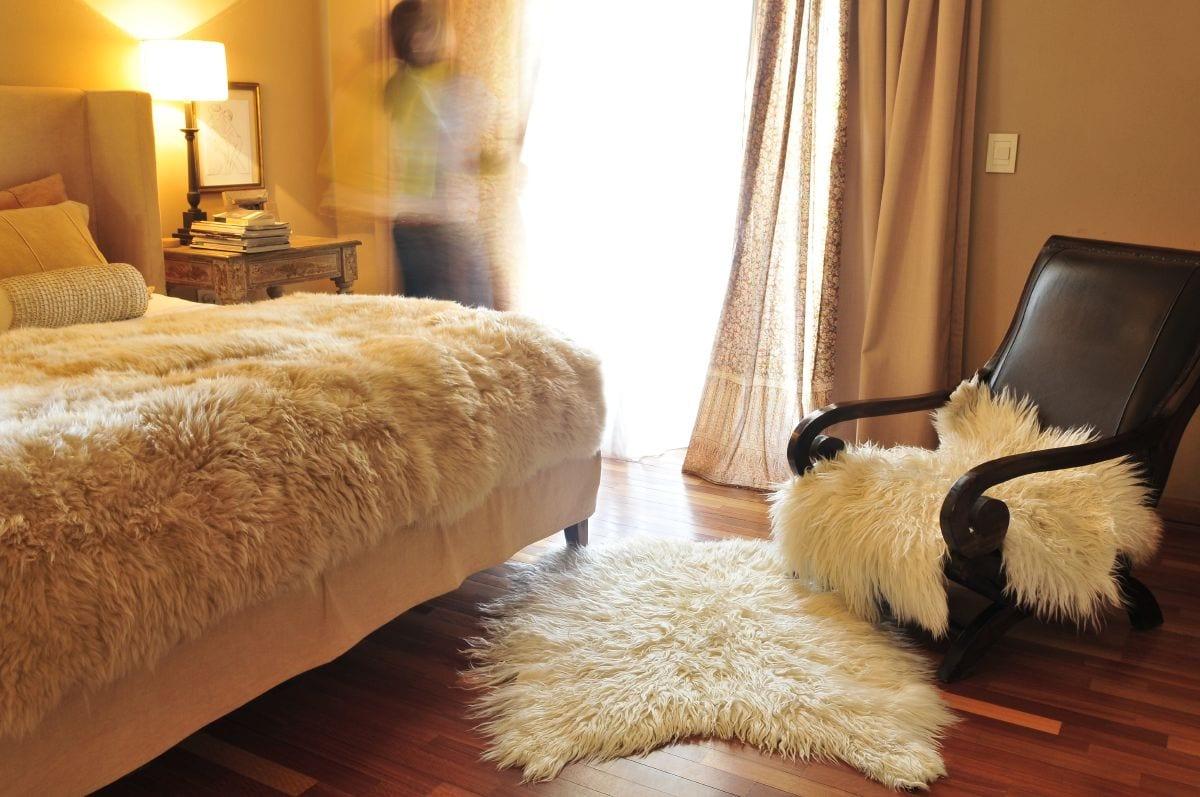 Revista estilo propio arquitectura y dise o arte y decoracion - Alfombra oveja ...