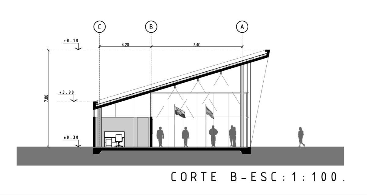 Revista estilo propio arquitectura y dise o arte y decoracion - Detalle constructivo techo ...