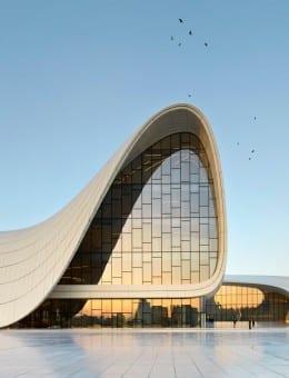 01. Heydar Aliyev Center, Baku_photo by Hufton+Crow