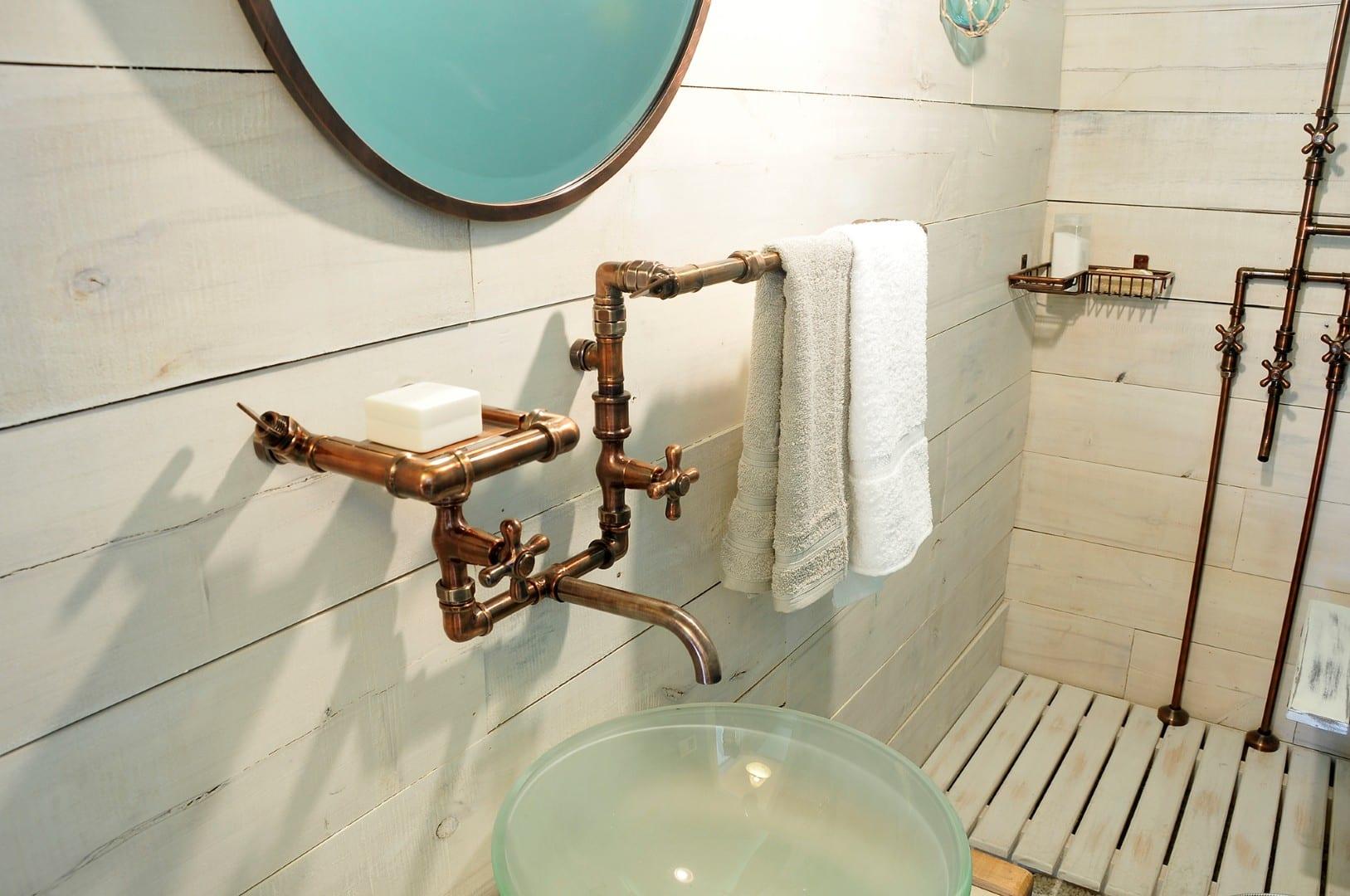 Revista estilo propio arquitectura y dise o arte y decoracion - Griferia de cobre ...