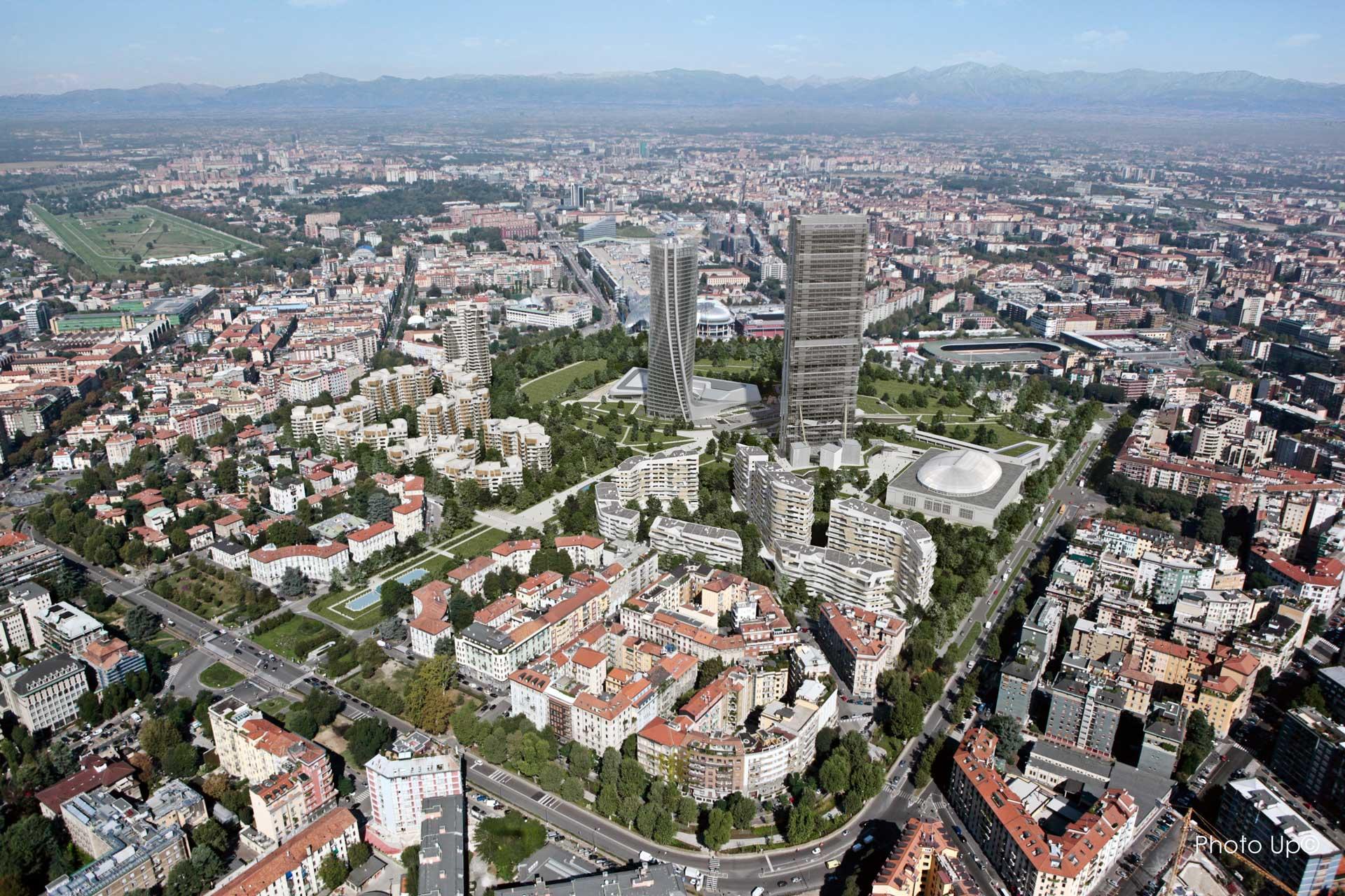 ZHA_Citylife_Generali-Tower_Milan_Aerial-View-2