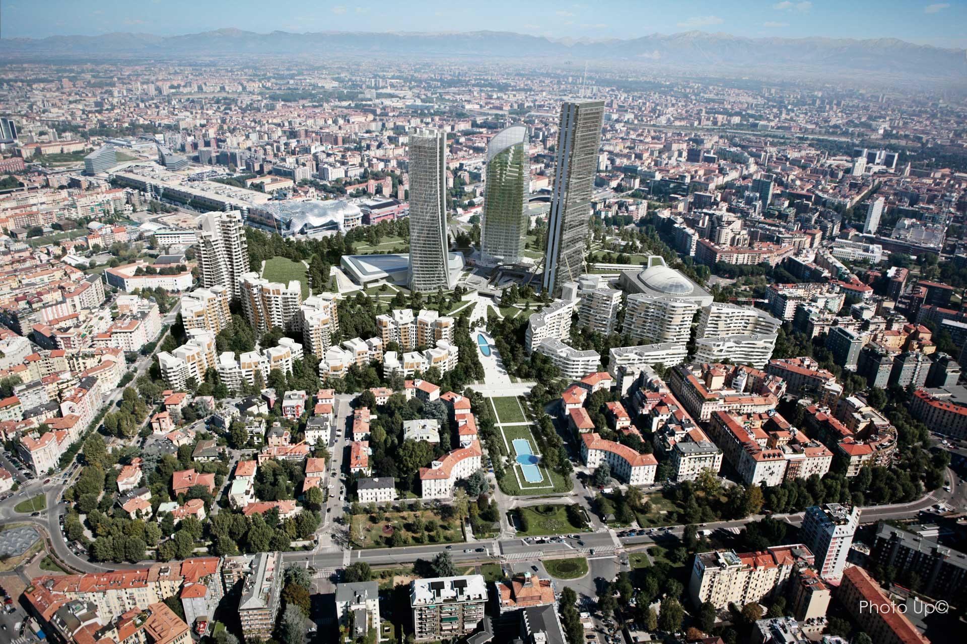 ZHA_Citylife_Generali-Tower_Milan_Aerial-View-3