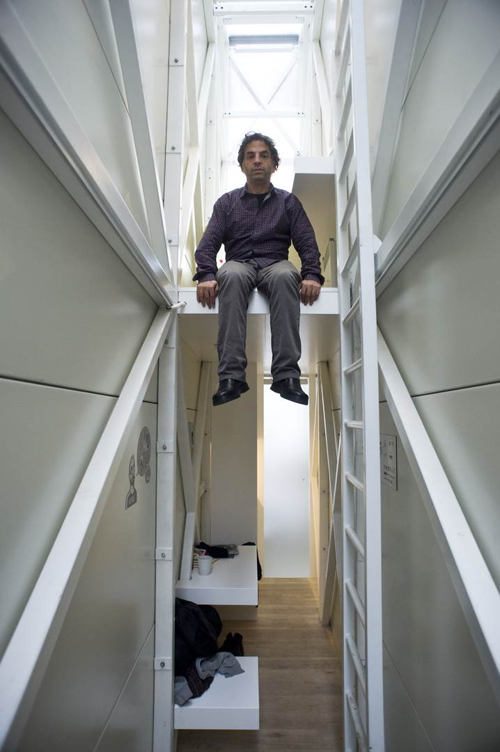 06. Etgar Keret in the Keret House, by Bartek Warzecha, © Polish Modern Art Foundation (Copy)