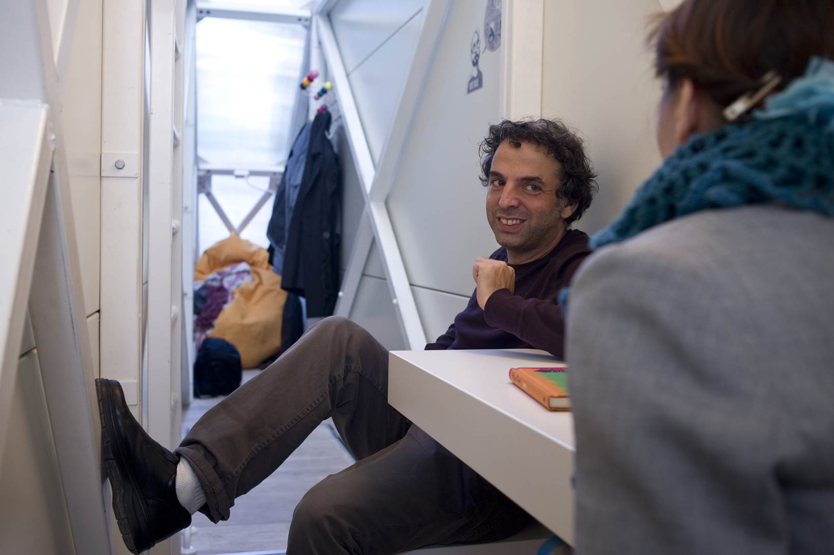 08. Etgar Keret in the Keret House, by Bartek Warzecha, © Polish Modern Art Foundation (Copy)