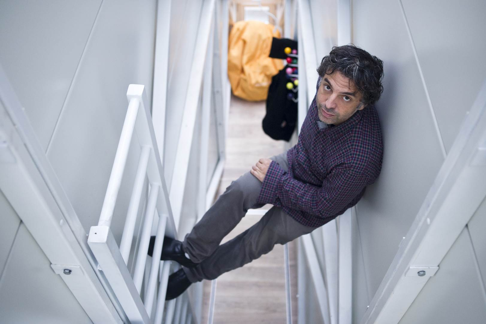 09. Etgar Keret in the Keret House, by Bartek Warzecha, © Polish Modern Art Foundation (Copy)