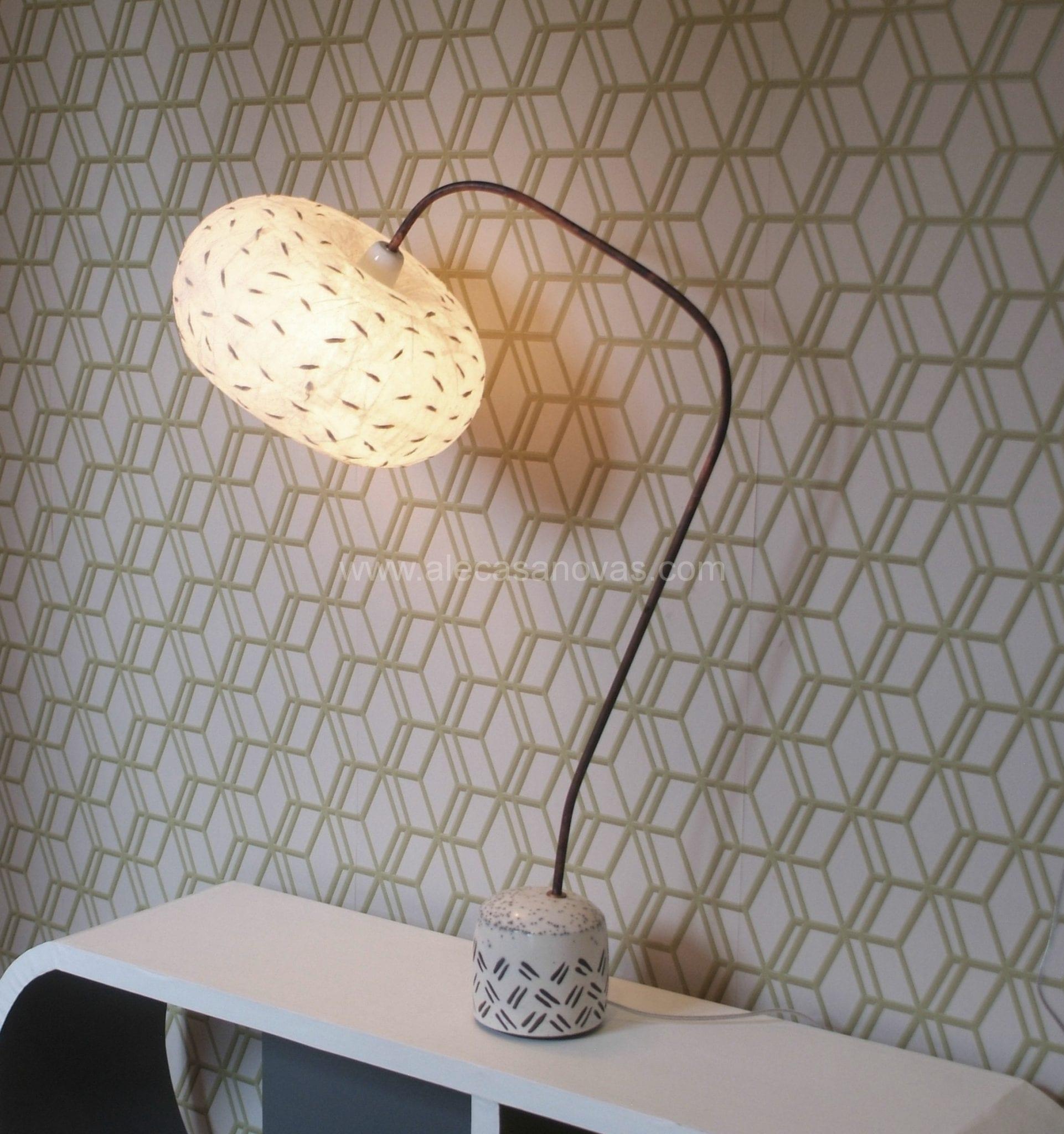 lampe-raku-papier-blanche-gd