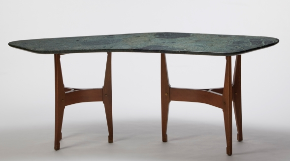 Table by B.B.P.R. Lodovico B. di Belgiojoso, Enrico Peressutti, Ernesto N. Rogers at Nilufar Gallery courtesy of Nilfar Gallery (Copy)