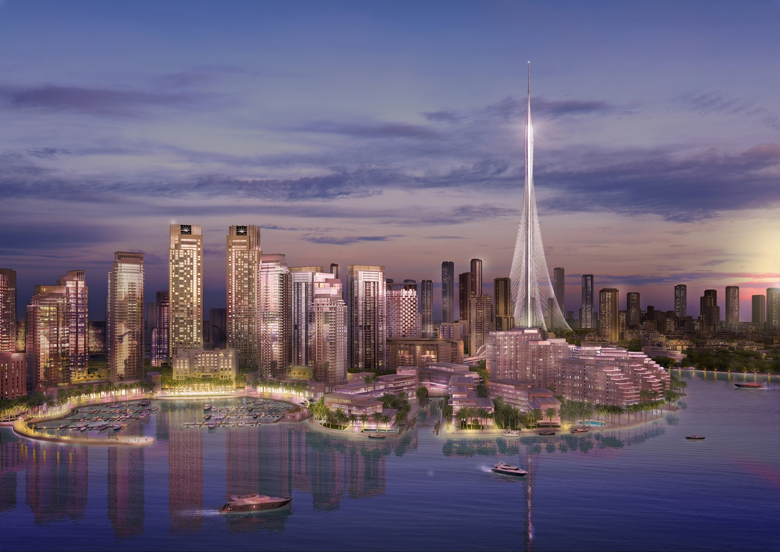 The Tower at Dubai Creek Harbour (2) Credit Emaar Properties (Copy)