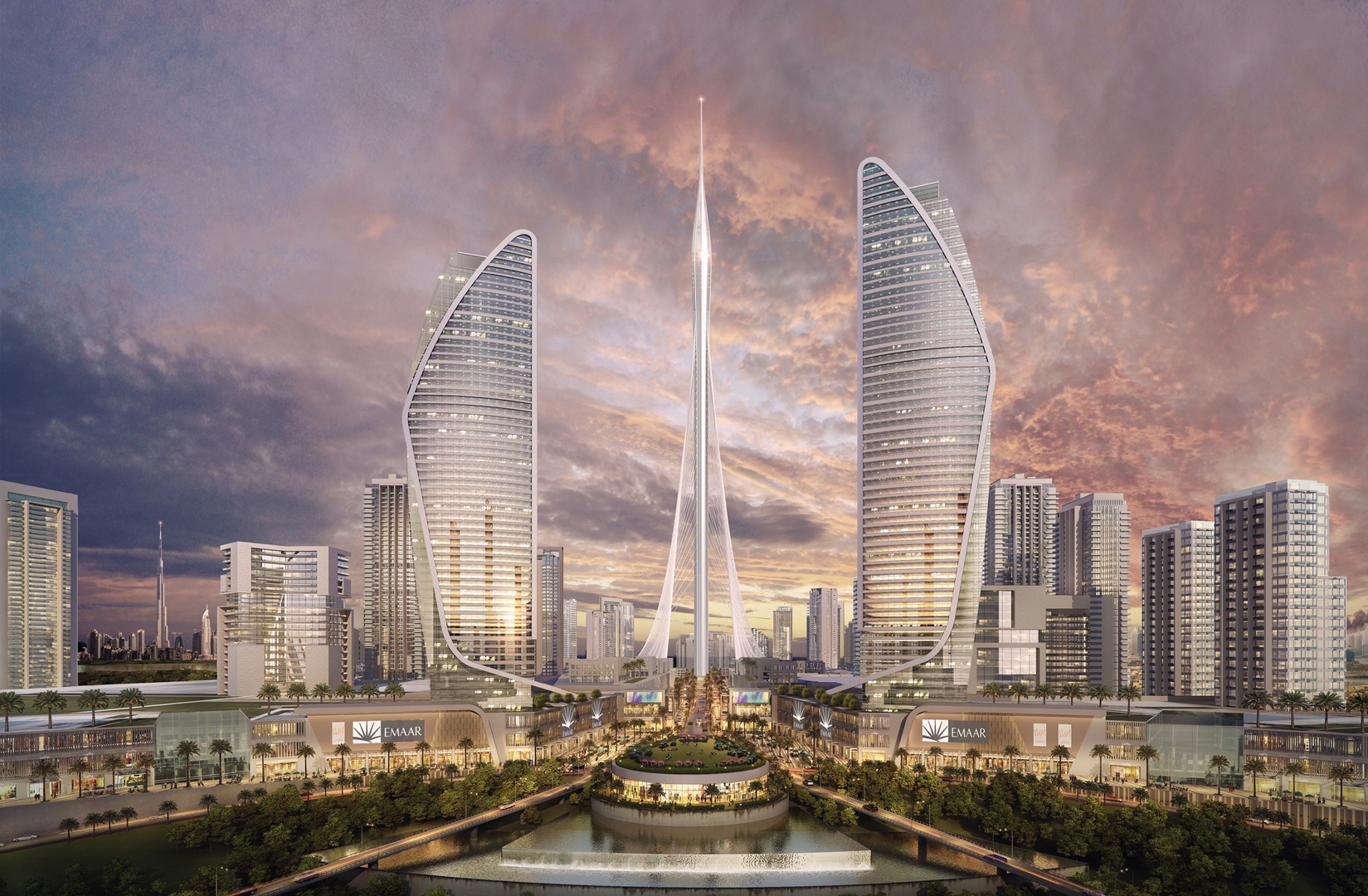 The Tower at Dubai Creek Harbour (5) Credit Emaar Properties (Copy)