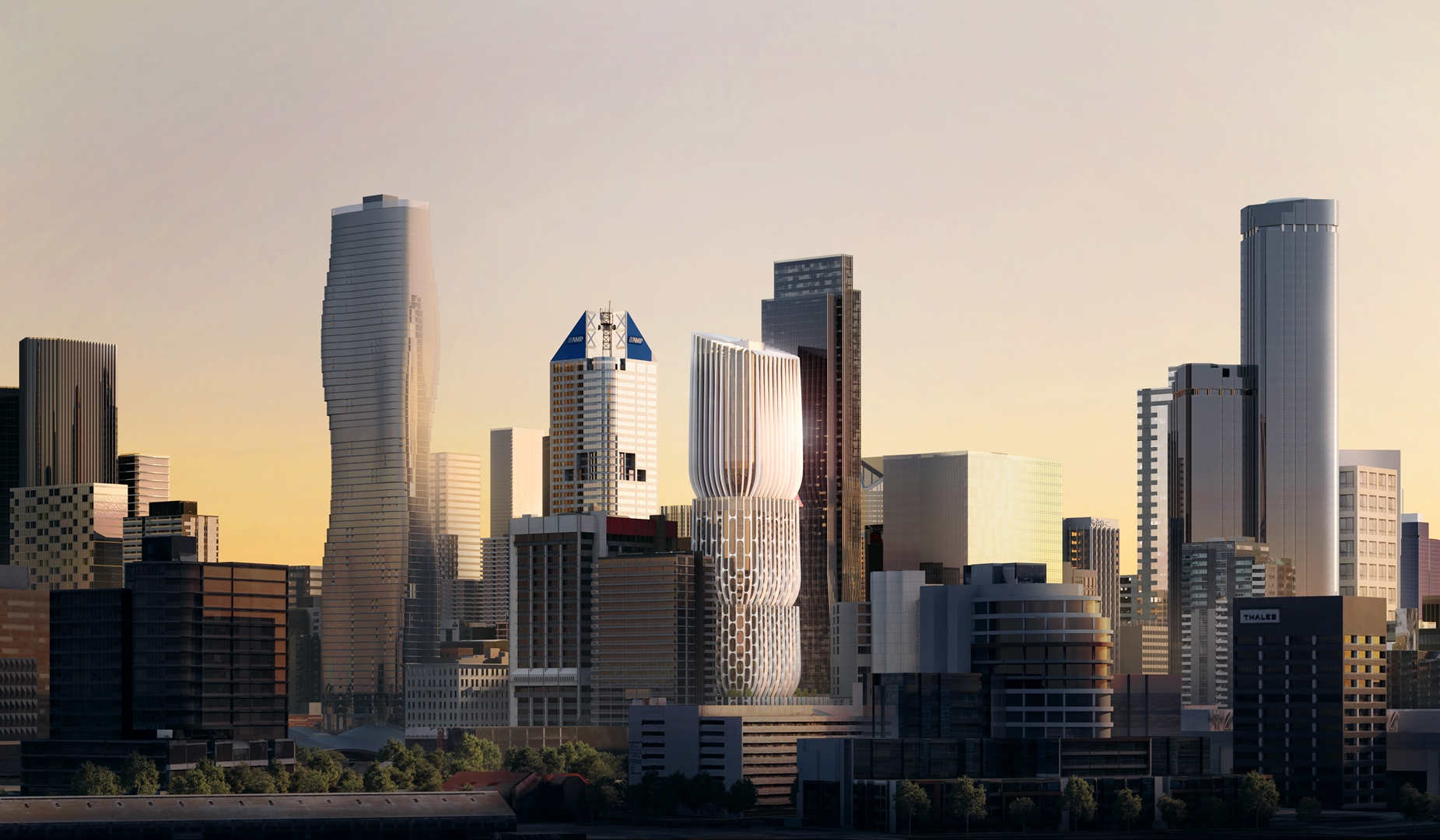 04_ZHA_MandarinOriental_Melbourne_Skyline©Visualarch (Copy)