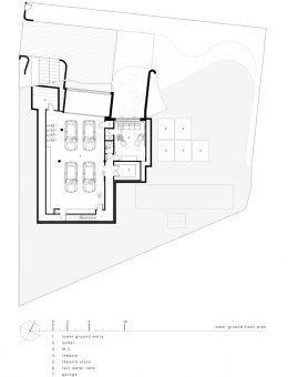 luigi rosselli architects   sticks and stones house   lower ground floor plan (Copy)