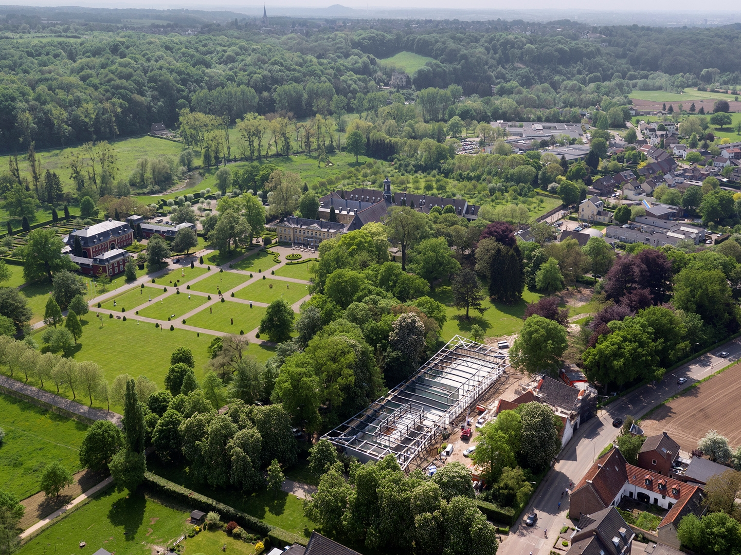 12_St Gerlach pavilion and manor farm_Mecanoo architecten_Photo by Air-Vision 2016 (Copy)