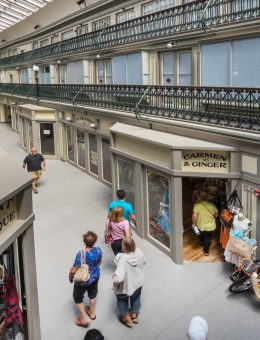 The Micro Lofts at The Arcade Providence Atrium and Micro Retail Photo Credit Ben Jacobsen (Copy)