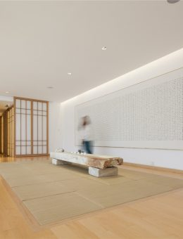 20-the large teahouse on the second floor, a bright space to overlook the courtyard, photography by Zou Bin (Copy)