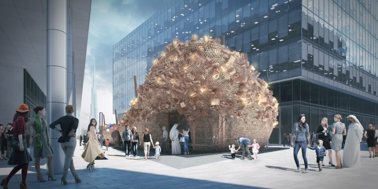Abwab temporary pavilion structure designed by Fahed + Architects (Copy)