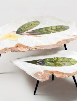 Champa nesting tables by Lel, at O'de Rose (Copy)