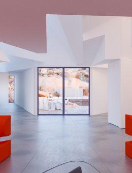 Whitaker Studio_Joshua Tree Residence_10_Bedroom Doors Open (Copy)