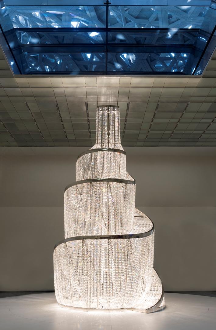 Créditos: Marc Domage + Louvre Abu Dhabi + Architecte Jean Nouvel