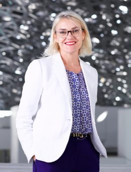 Anne Mény-Horn - CEO - Agence France Museums © Louvre Abu Dhabi Mohamed Somji (Copy)
