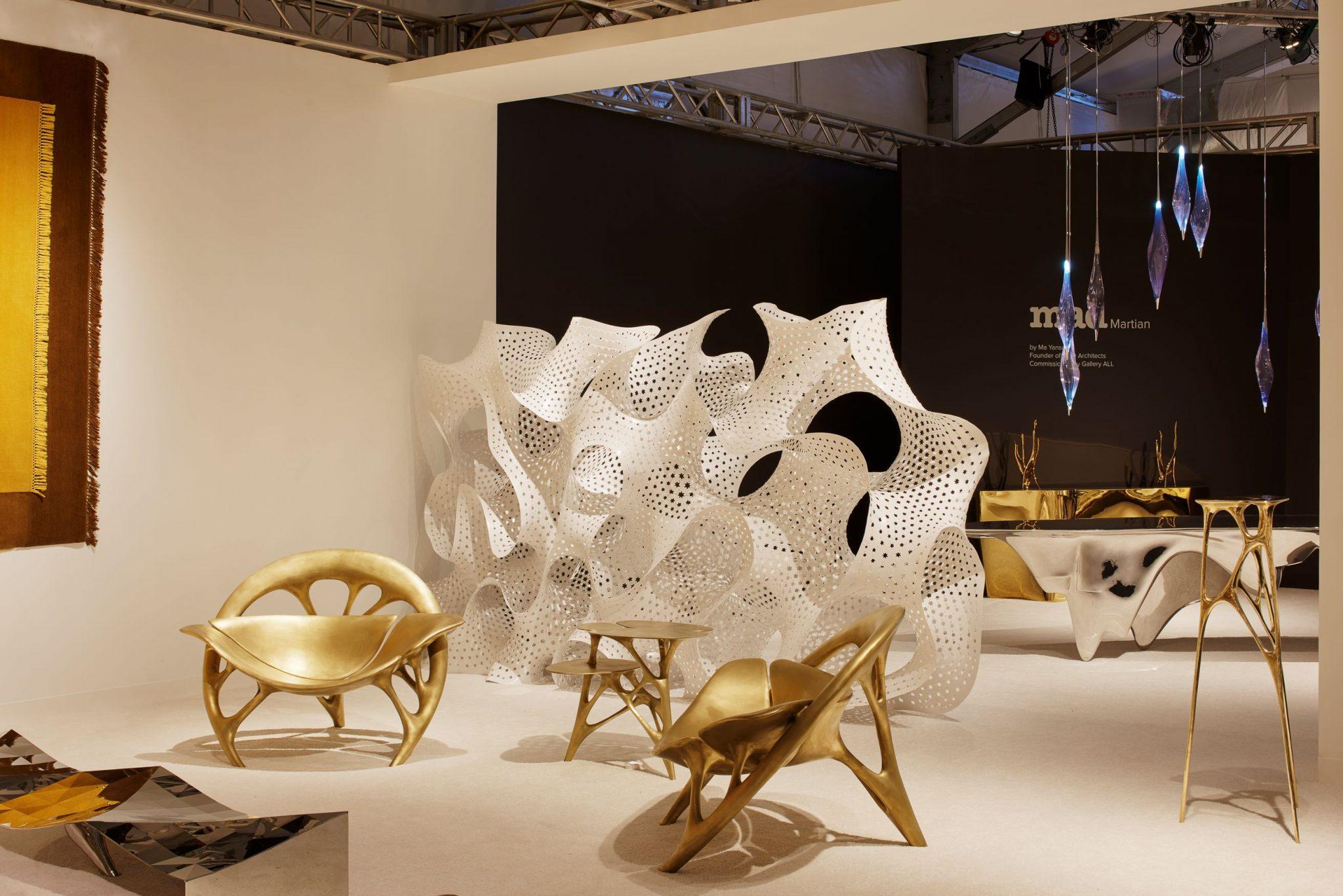 Espacio de Gallery ALL, uno de los pioneros en cuanto al diseño futurista en China.