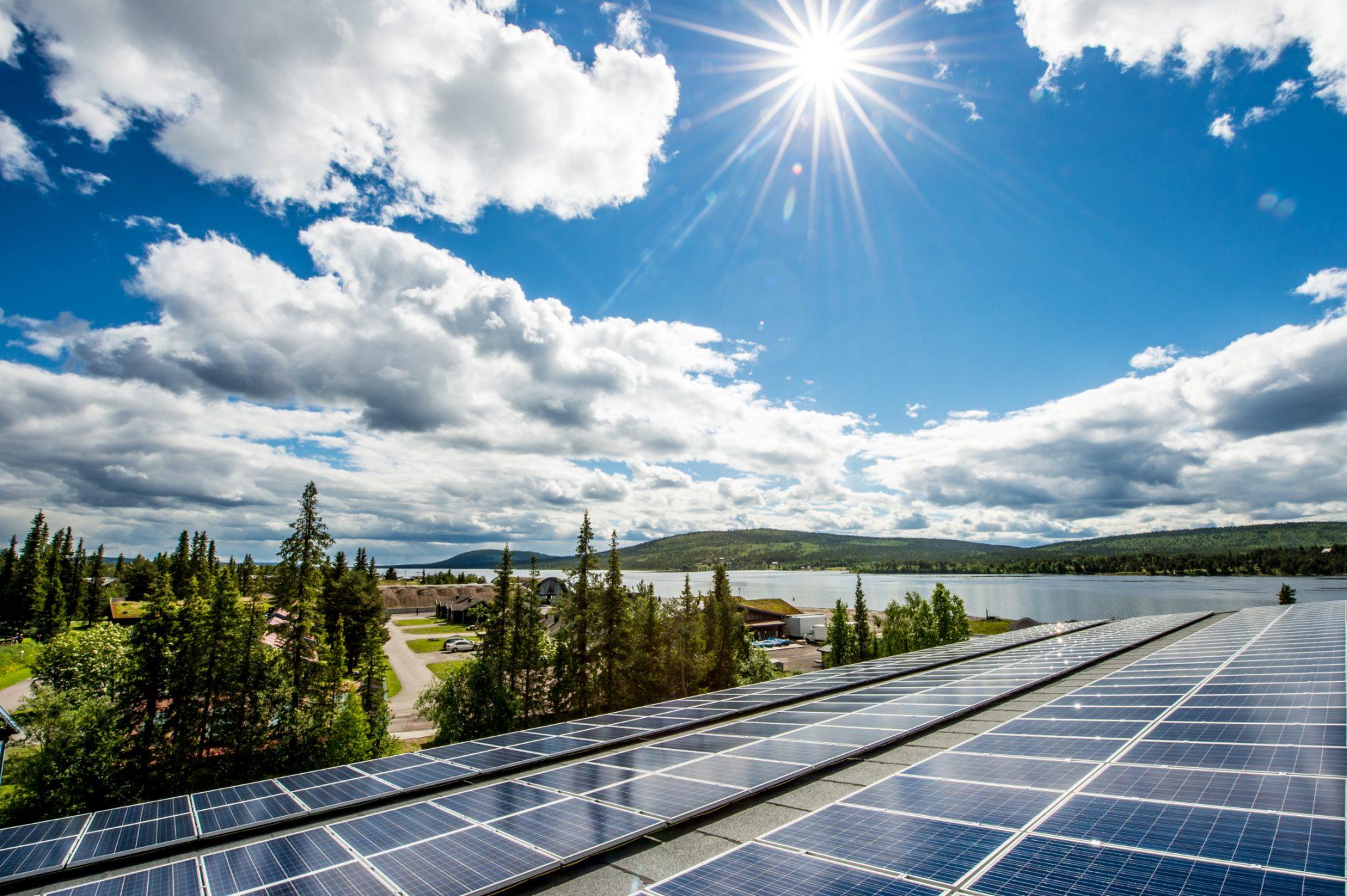 Paneles solares ICEHOTEL 365