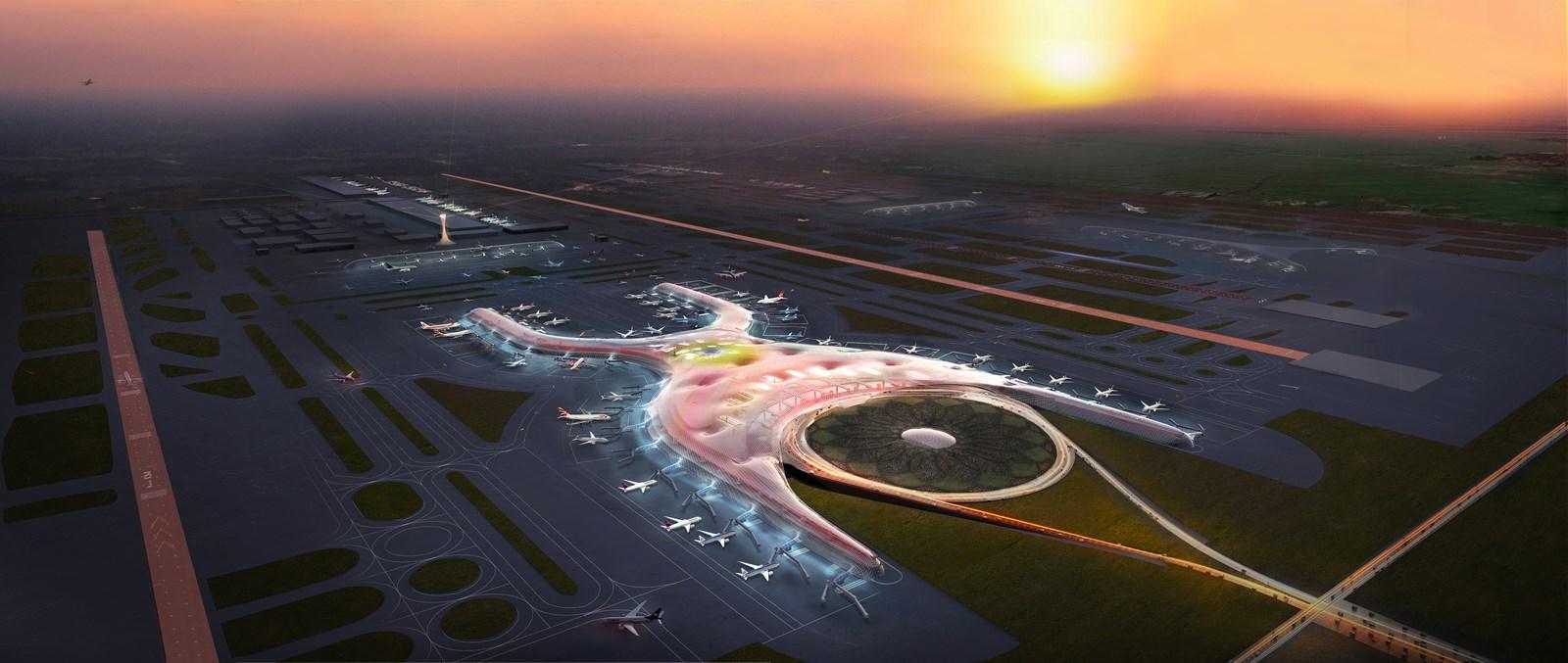 2018 -Proyecto Futuro - Nuevo Aeropuerto Internacional, Ciudad de México, México.