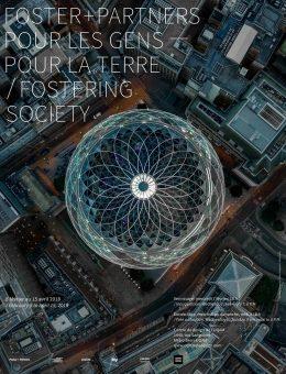 Fomentar la sociedad: Foster + Partners / Cartel de exposición