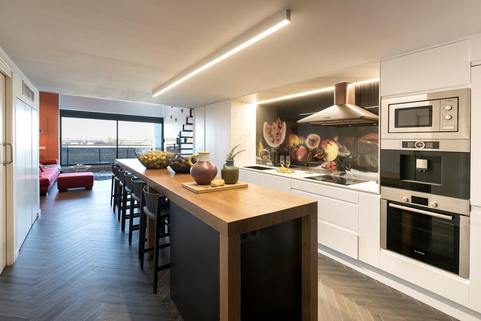 Revista estilo propio arquitectura y dise o arte y for Cocina industrial tipo loft